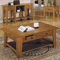 Morris Home Liberty Cocktail Table - Item Number: lb100c