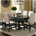 Steve Silver Leona Dining Table - Item Number: LY500B+T