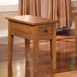 Morris Home Liberty Chairside End Table