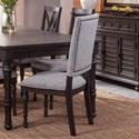 Steve Silver Linnett Upholstered Back Chair - Item Number: LT510S