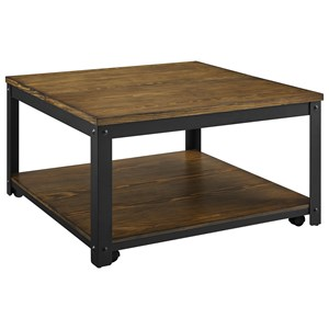 Lift Top Cocktail Table w/ Casters