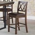 Steve Silver Lori Counter Chair - Item Number: LR700CC