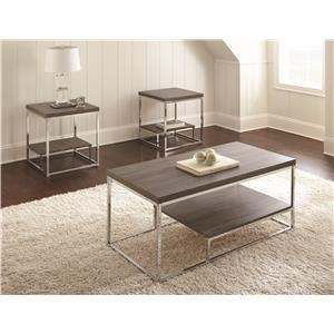 Morris Home Furnishings Whitwell Whitwell 3 Table Set