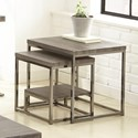 Steve Silver Lucia 2 Piece Nesting Table - Item Number: LU150NT
