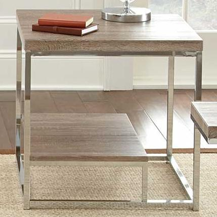 Steve Silver Lucia End Table - Item Number: LU250E