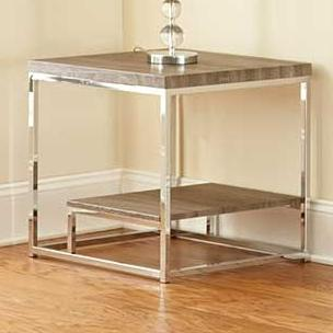 Steve Silver Lucia End Table - Item Number: LU350E