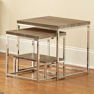 Steve Silver Lucia 2 Piece Nesting Table - Item Number: LU350NT