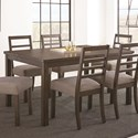 Steve Silver Lyndon Dining Table - Item Number: LD500T