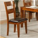 Morris Home Furnishings Mango Ladder Back Side Chair - Item Number: GO400SK