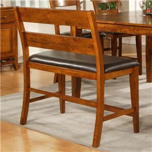 Morris Home Furnishings Mango Counter Height Bench