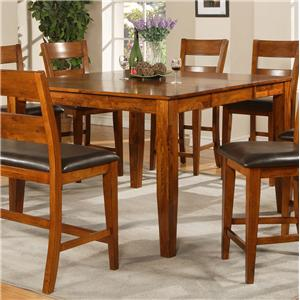 Morris Home Furnishings Mango Counter Height Leg Table