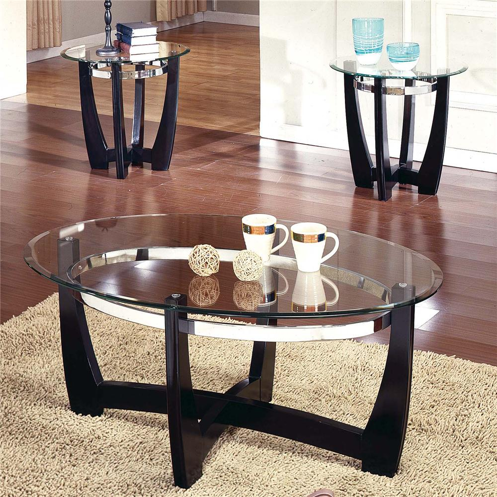 Steve Silver Matinee 3-Pack Occasional Table Group - Item Number: MT2000T+B