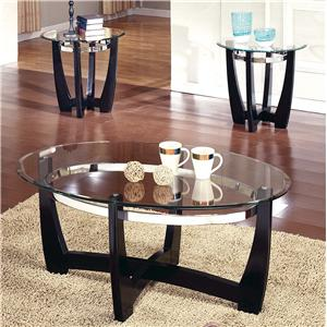 Morris Home Furnishings Matinee 3-Pack Occasional Table Group
