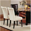 Vendor 3985 Matinee Exposed Wood Parson's Dining Chair - Item Number: MT200BE