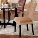 Morris Home Matinee Exposed Wood Parson's Dining Chair - Item Number: MT200CA