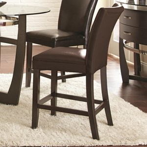 Vendor 3985 Matinee Bonded Leather Counter Chair