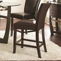 Steve Silver Matinee Bonded Leather Counter Chair - Item Number: MT480CCK