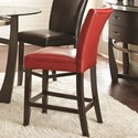 Steve Silver Matinee Bonded Leather Counter Chair - Item Number: MT480CCR