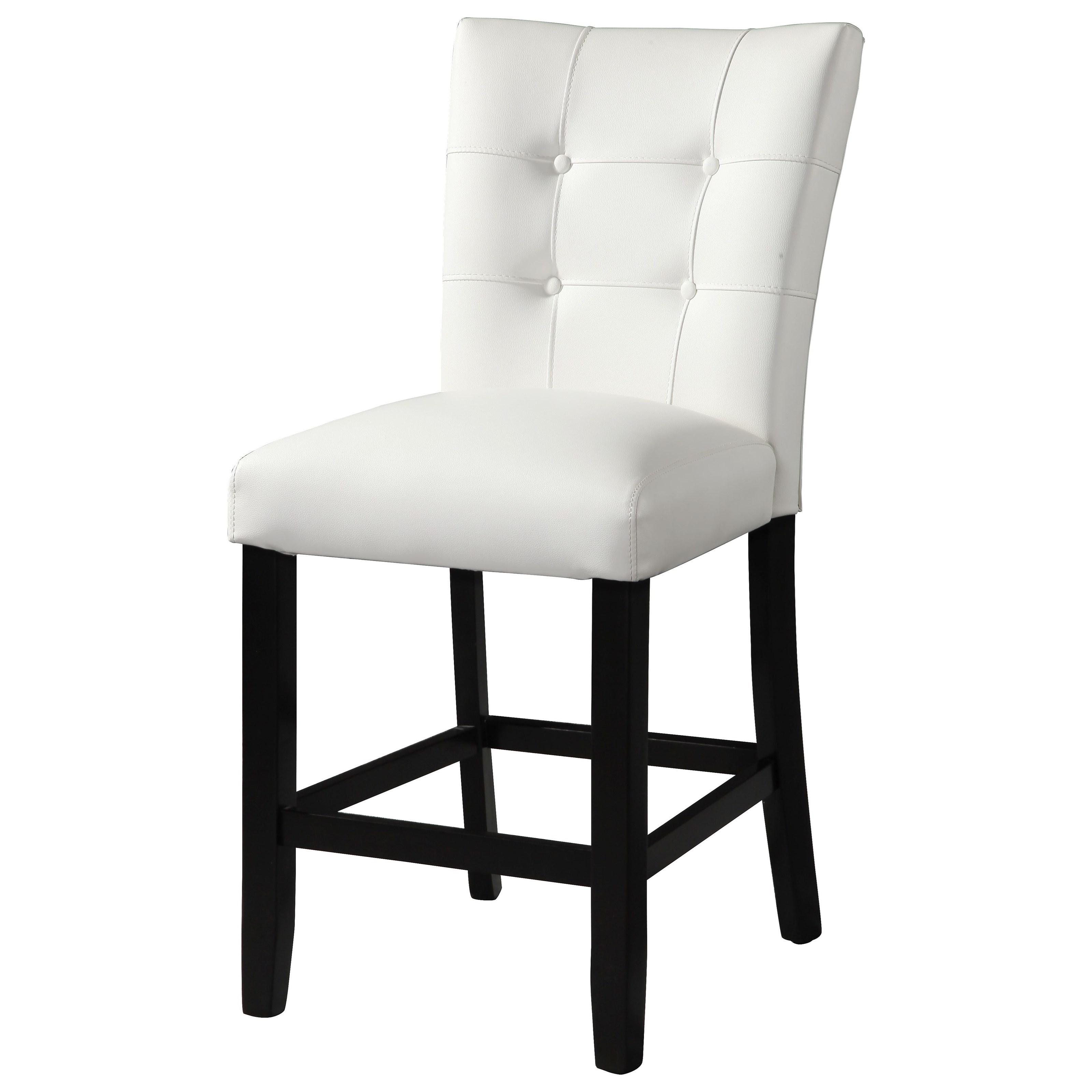 White Counter Chair