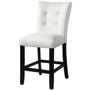 White Counter Chair