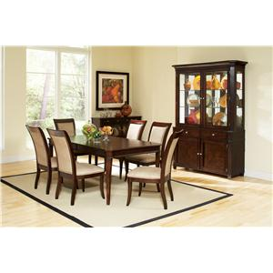 Morris Home Furnishings Marseille 7-Piece Dining Set
