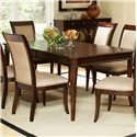Morris Home Furnishings Marseille Dining Table - Item Number: MS800T