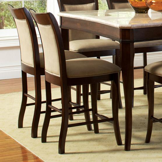 steve silver marseille transitional counter height chair with