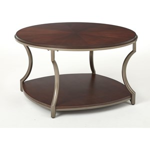 Prime Maryland Round Cocktail Table