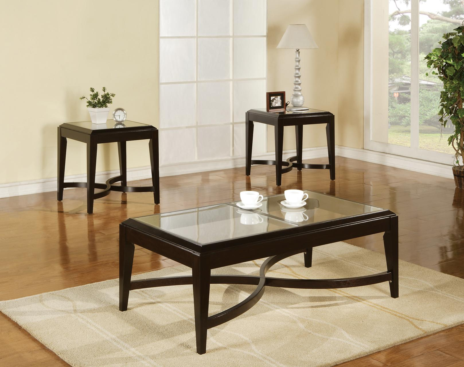 Steve Silver Mayfield 3-Pack Occasional Table Set - Item Number: MF300