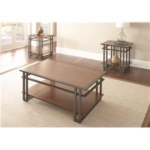 Steve Silver Micah Micah 3 piece Table Set