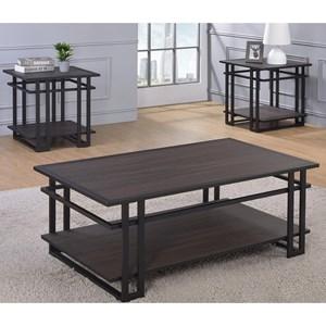 Steve Silver Micah 3 Pack Table Set - mh2000b