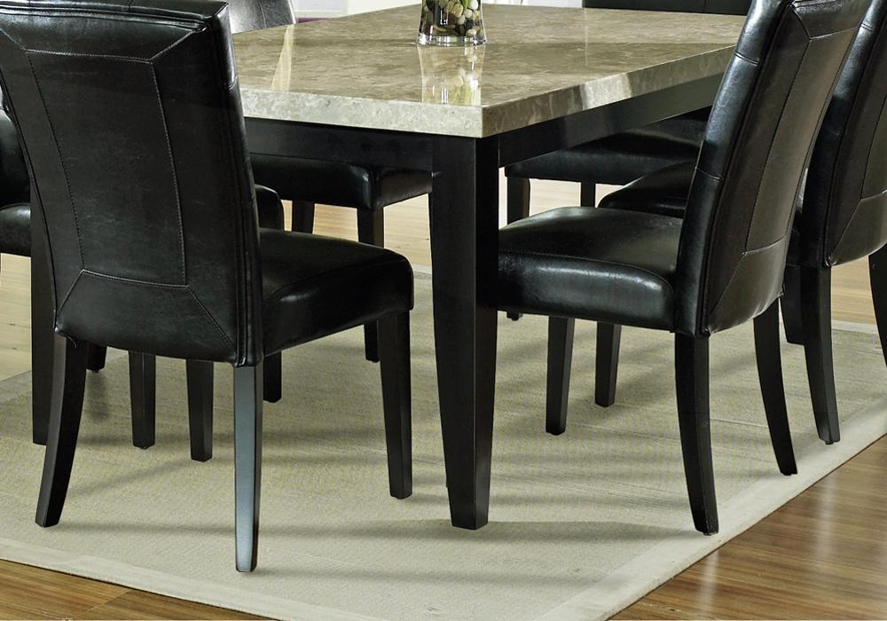 Steve Silver Monarch Marble Veneer Top Leg Table - Item Number: MC500T