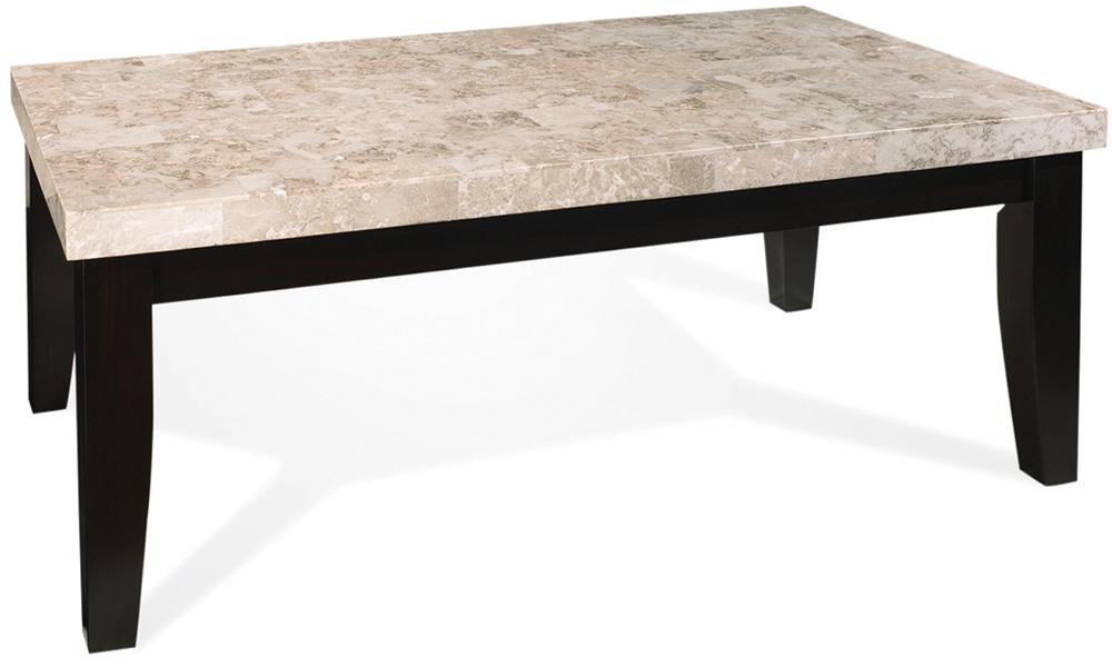 Steve Silver Monarch Marble Veneer Top Cocktail Table - Item Number: MC700C