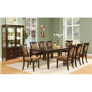 Morris Home Furnishings Montblanc Formal Dining Room Group