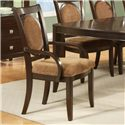 Vendor 3985 Montblanc Arm Chair - Item Number: MB500A