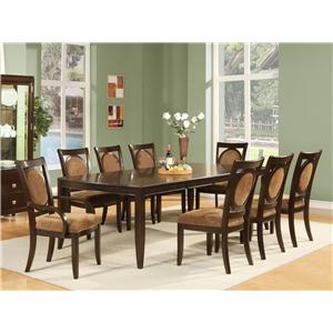 Morris Home Furnishings Montblanc Table and Chair Set