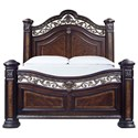 Morris Home Monte Carlo King Bed - Item Number: RE163SS-143+138+139+144+142