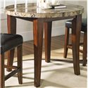 Morris Home Furnishings Montibello Round Counter Height Table - Item Number: 600PT-MN