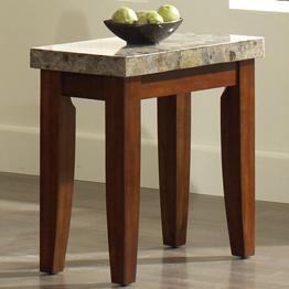 Steve Silver Montibello Chairside End Table - Item Number: MN700EC