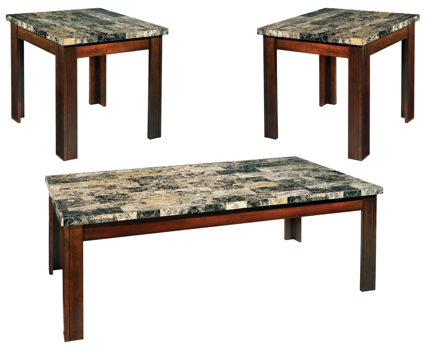 Steve Silver Montibello 3-Pack Occasional Table Set - Item Number: MN800