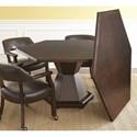 Steve Silver Morris Game/Dining 2-in-1 Single Pedestal Table