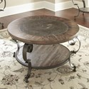 Steve Silver Mulberry Round Cocktail Table - Item Number: MU200C