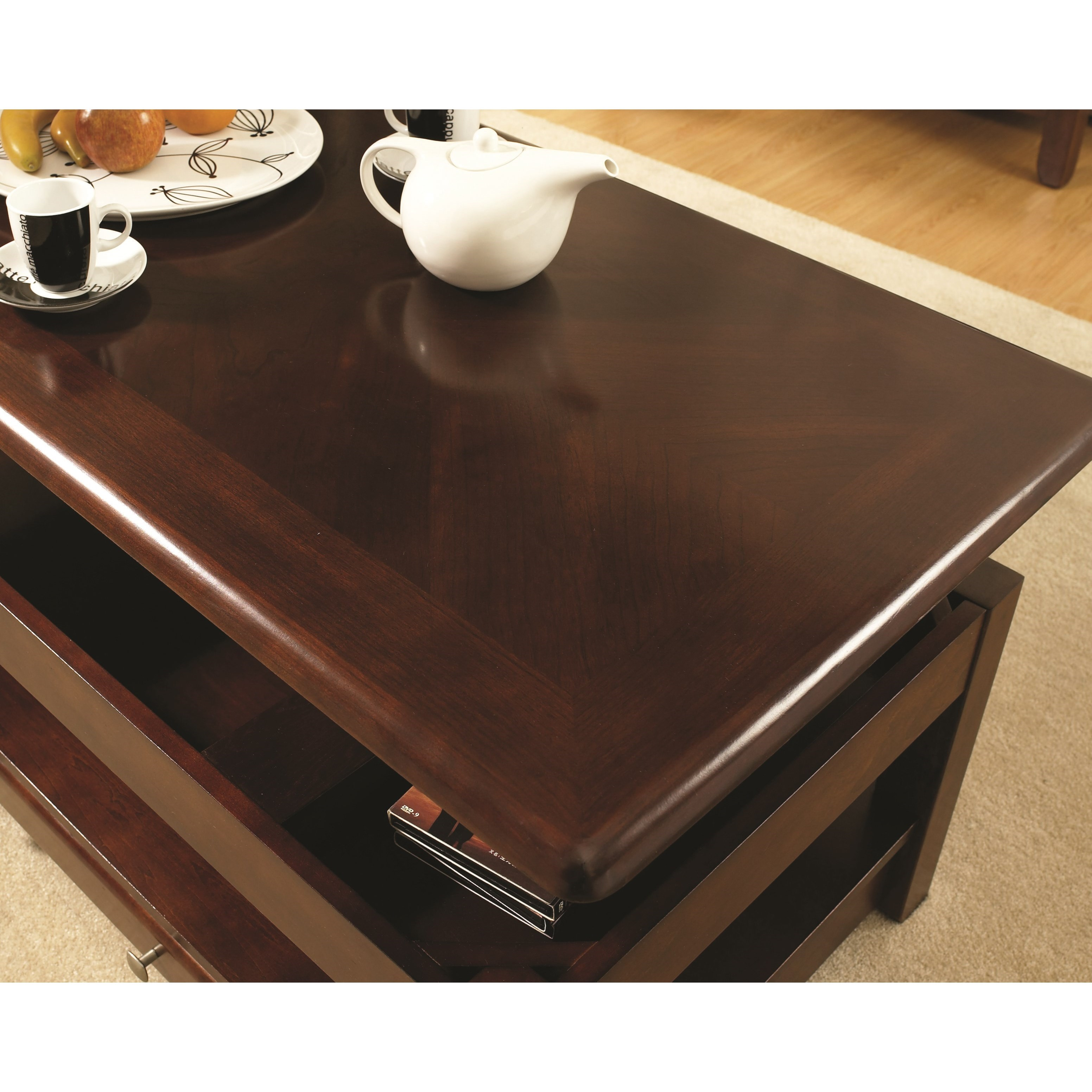Steve Silver Nelson NL300CLC Lift-Top Cocktail Table With