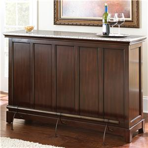 Steve Silver Newbury Stone Top Counter Bar Unit