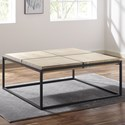 Steve Silver Oaklee Coffee Table - Item Number: OE100C