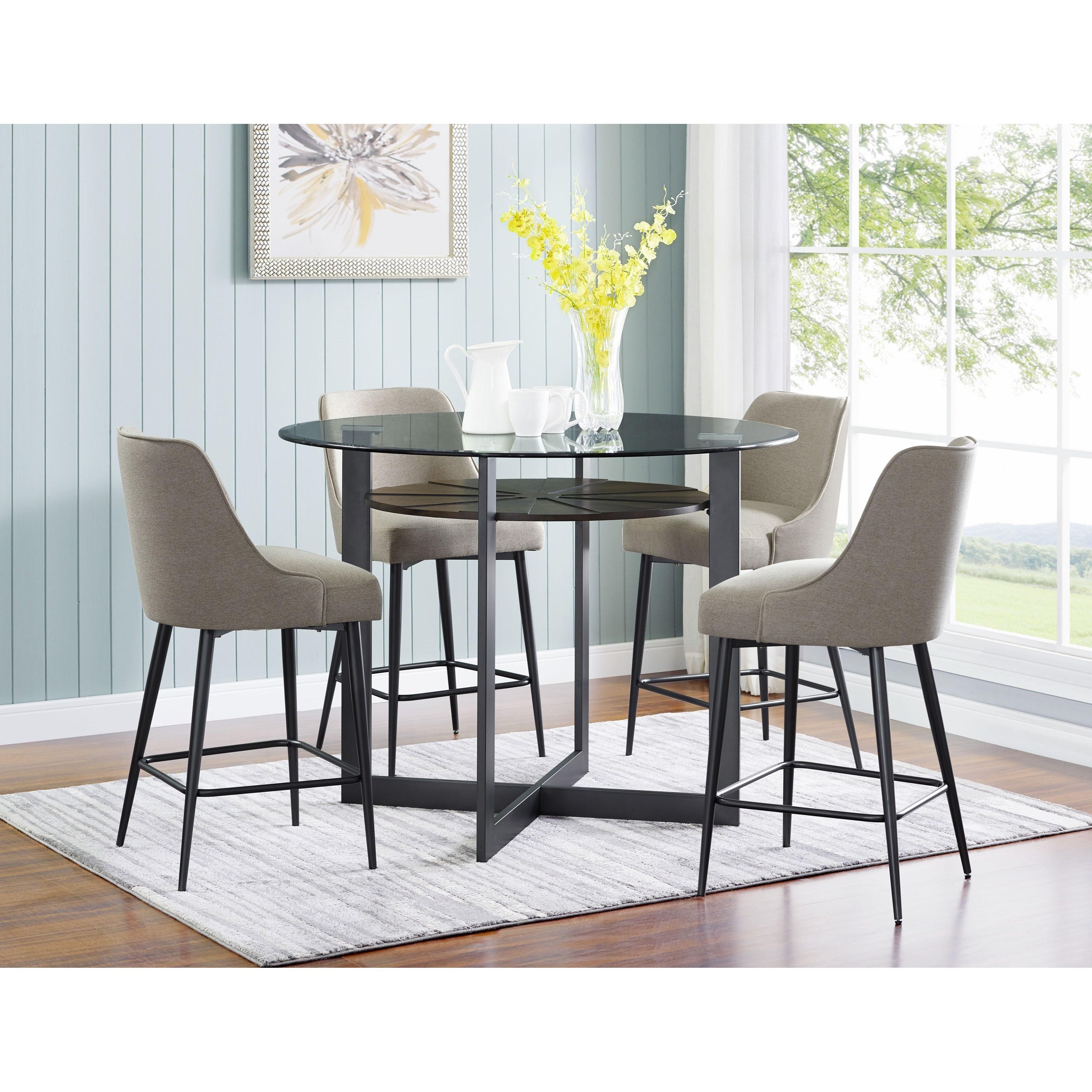 5 Piece Counter Dining Set