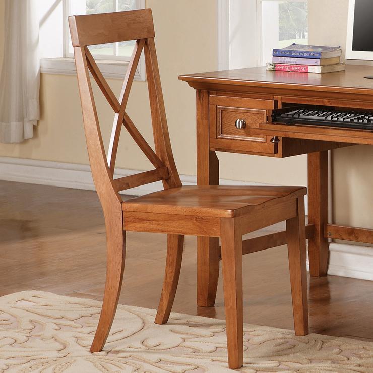 Steve Silver Oslo Desk Side Chair - Item Number: SN150SK