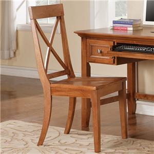 Morris Home Furnishings Oslo Desk Side Chair