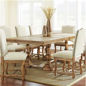 Morris Home Furnishings Plymouth Dining Table