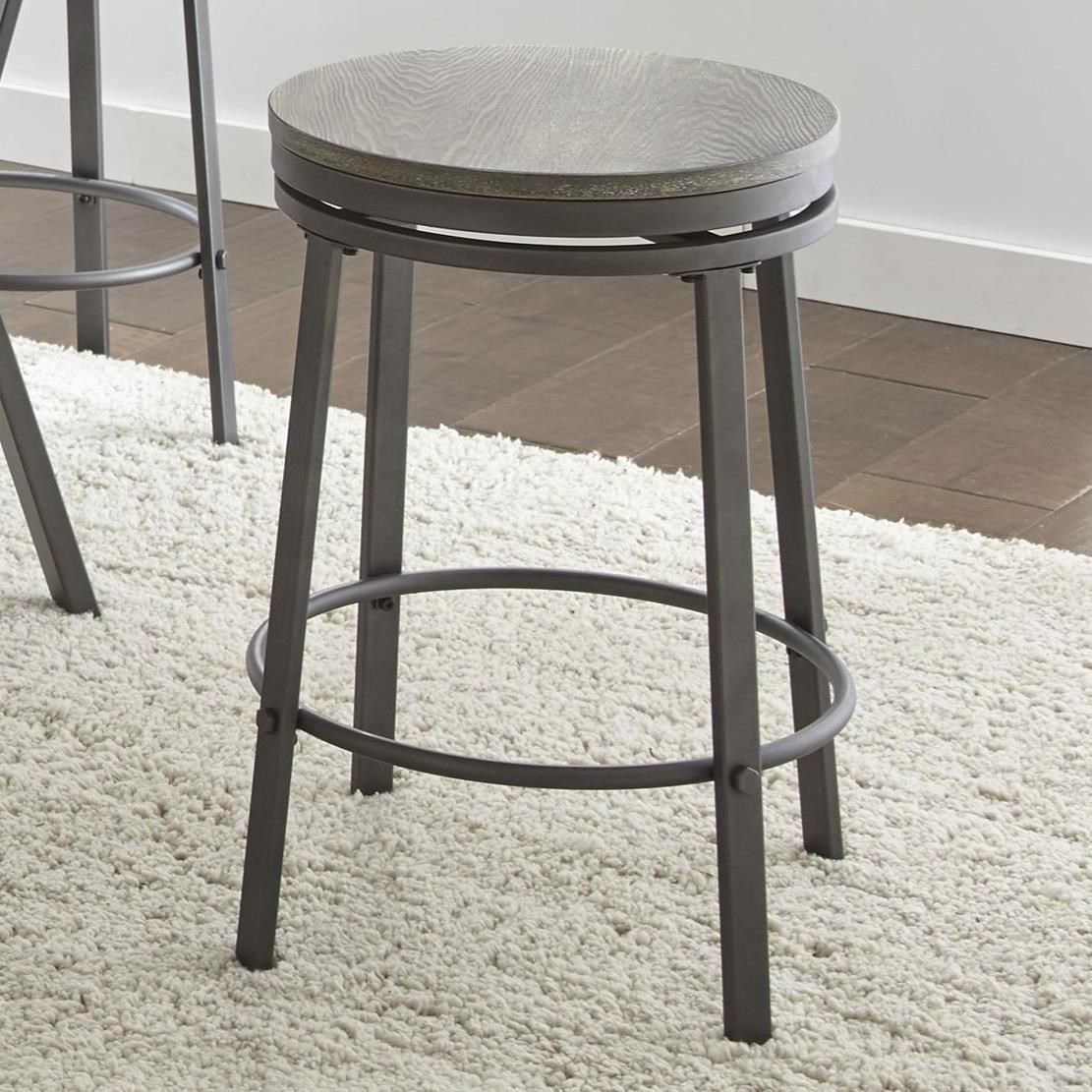 Steve Silver Portland Industrial Counter Stool Darvin